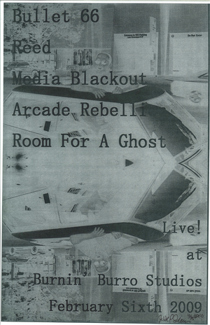 Poster 0000049 - Room For A Ghost- Live At Burnin' Burro Studios - 2009.02.06 (Poster)
