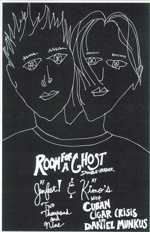 Poster 0000067 - Room For A Ghost - Live! At Jenfest And Kimo's - 2009.08.02 (Poster)