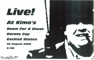 Poster 0000069 - Room For A Ghost - Live! At Kimo's - 2009.08.26 (Poster)