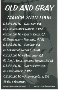Poster 0000081 - Old And Grey - Tour - 2010.03.25 (Poster)