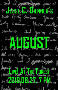 Poster 0000090 - Jesse C. Dienner - Live! At The Forest - 2010.08.27 (Poster)