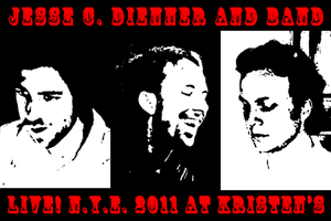 Poster 0000105 - Jesse C. Dienner And Band - Live! At Kristen's - 2011.12.31 (Poster)