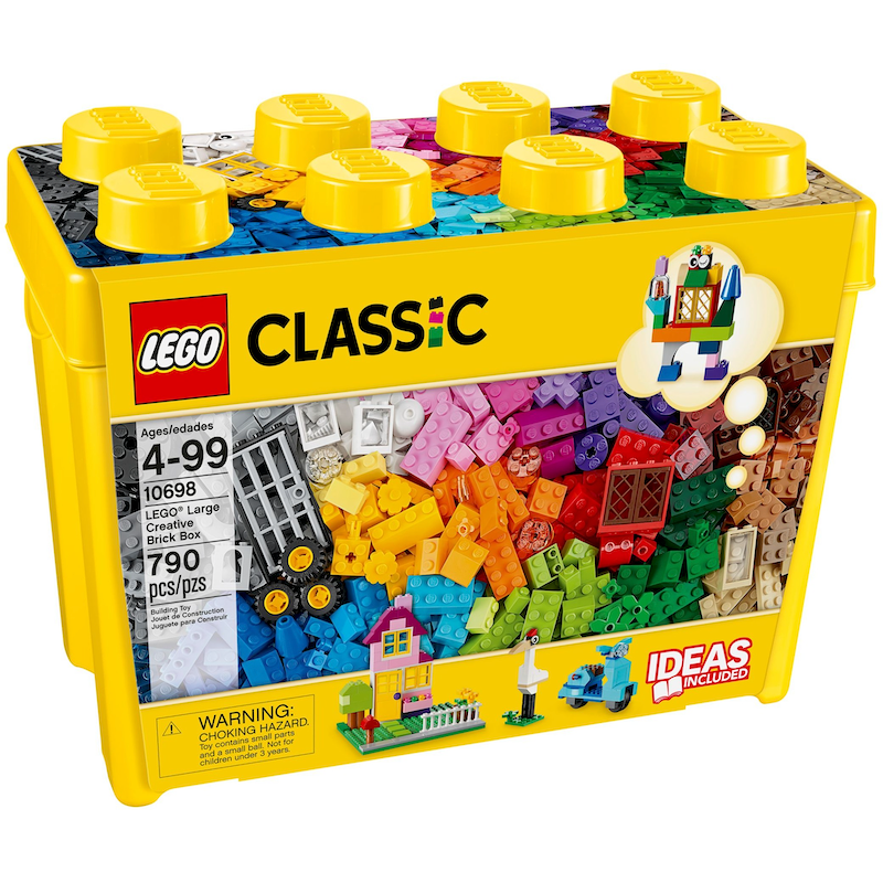 10698 Large Creative Brick Box