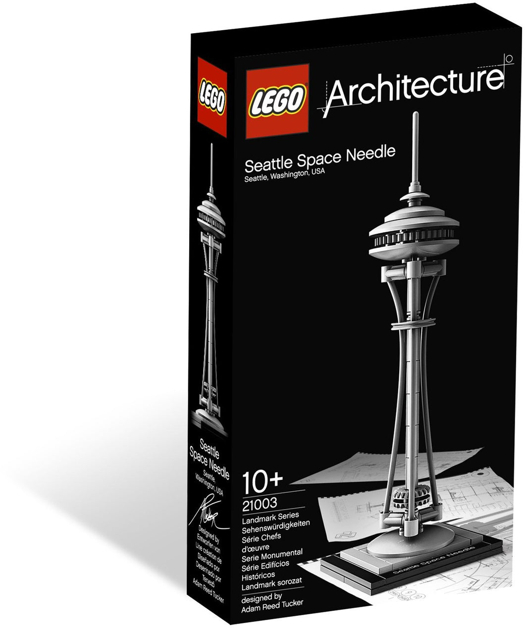 21003 Seattle Space Needle (Certified Set)