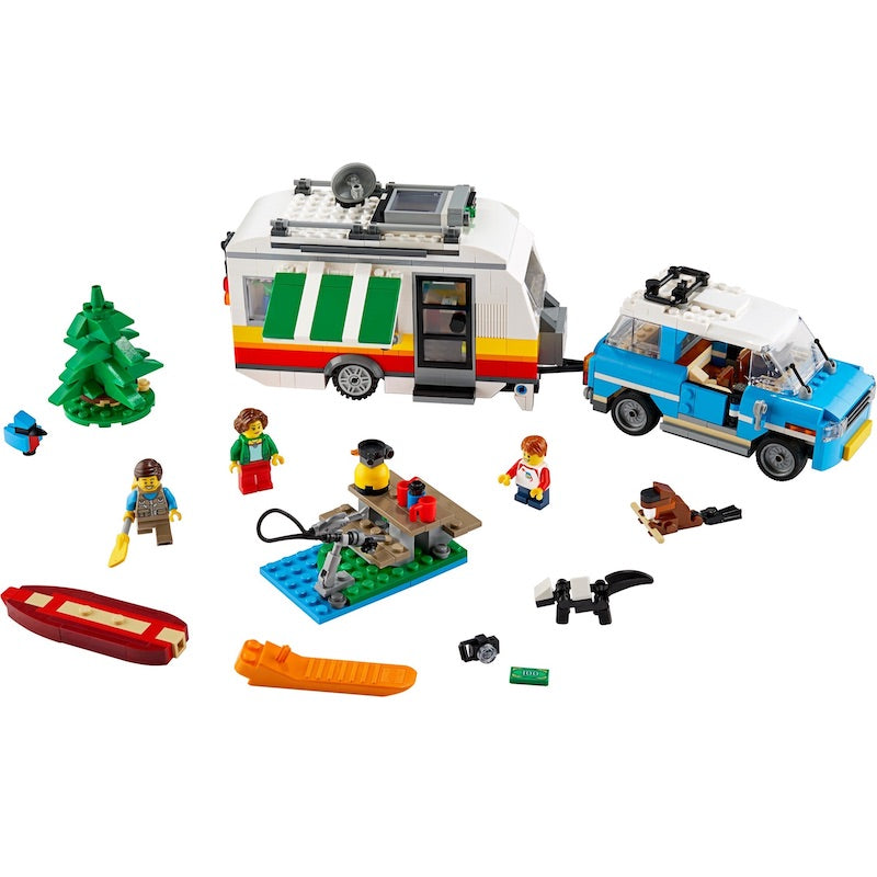 31108 Caravan Family Holiday