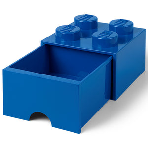 40051731 Storage Brick 2 x 2 with Drawer - Blue