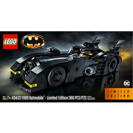 40433 1989 Batmobile™ - Limited Edition (Certified Set)