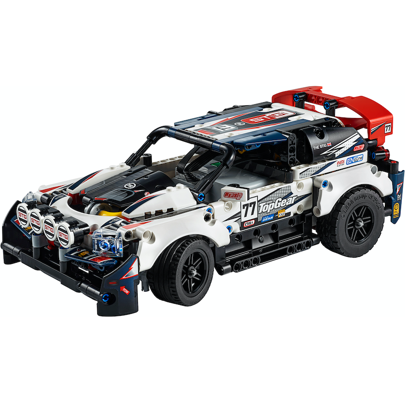 42109 App-Controlled To Gear Rally Car