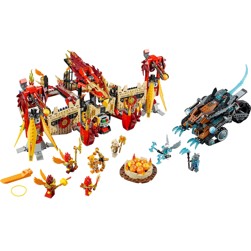 70146 Flying Phoenix Fire Temple