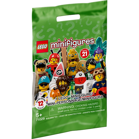 71029 Series 21 Collectible Minifigure (Random Bag)