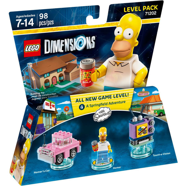 71202 The Simpsons Level Pack