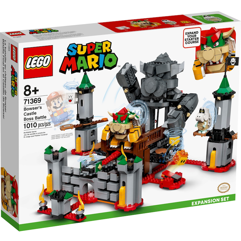71369 Bowser's Castle Boss Battle