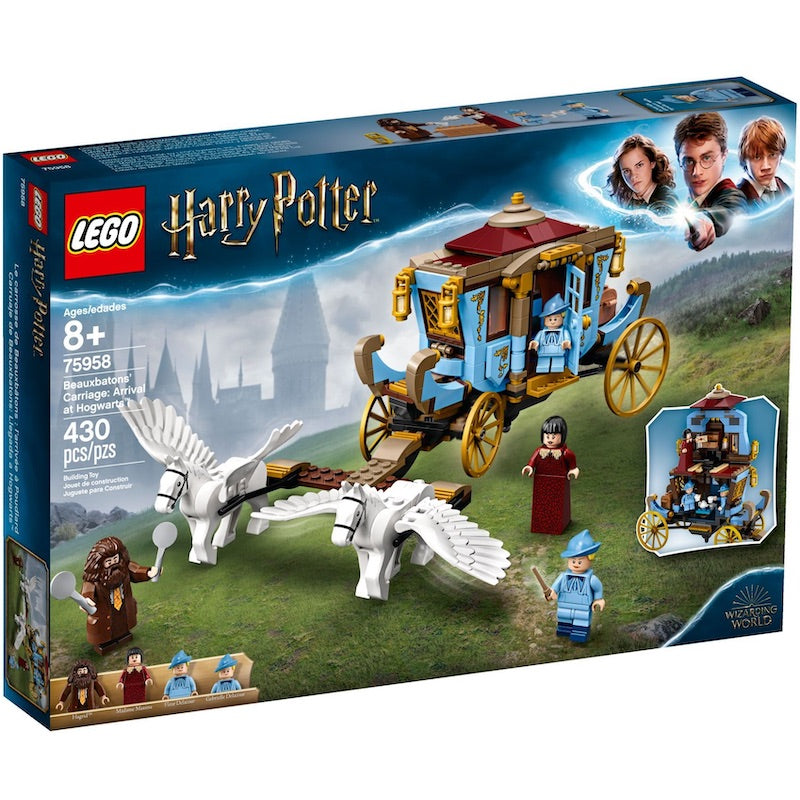 75958 Beauxbatons' Carriage: Arrival at Hogwarts (Certified Set)