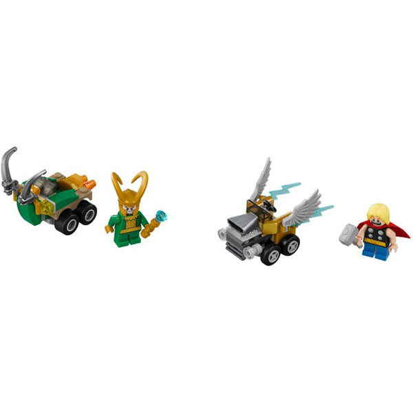 76091 Mighty Micros: Thor vs. Loki
