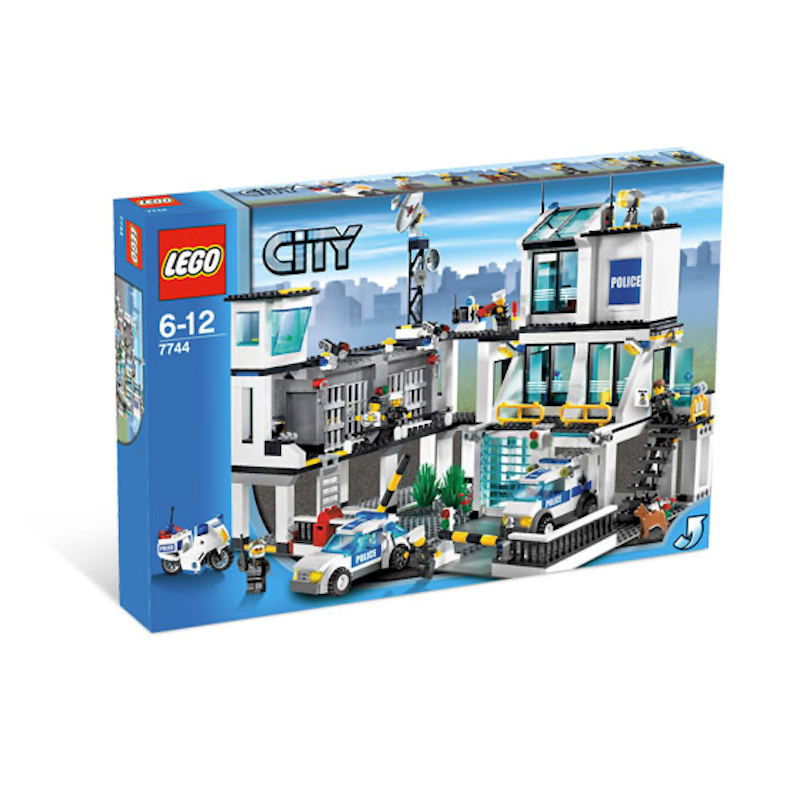 7744 Police Headquarters (Certified Set)