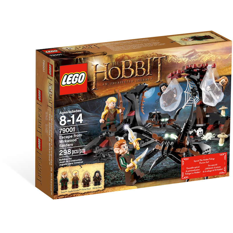 79001 Escape from Mirkwood Spiders (Certified Set)