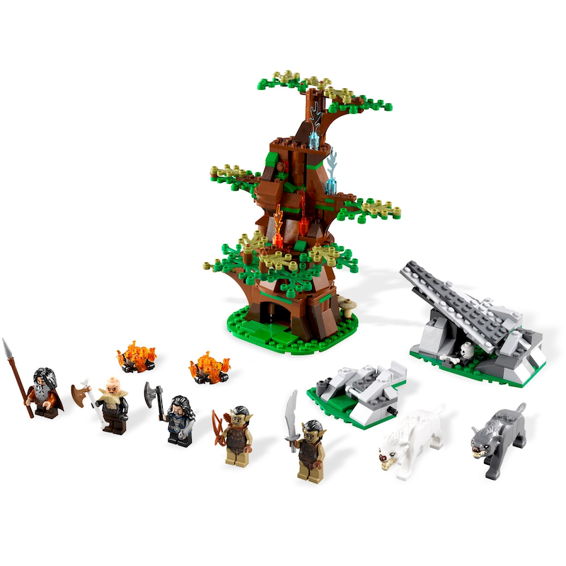 79002 Attack of the Wargs (Certified Set)
