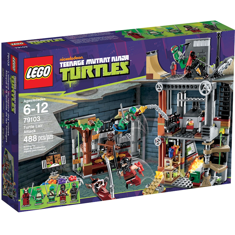 79103 Turtle Lair Attack