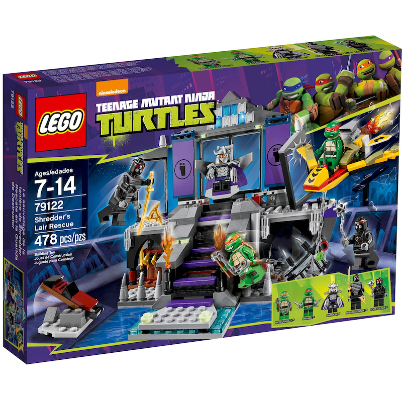 79122 Shredder's Lair Rescue