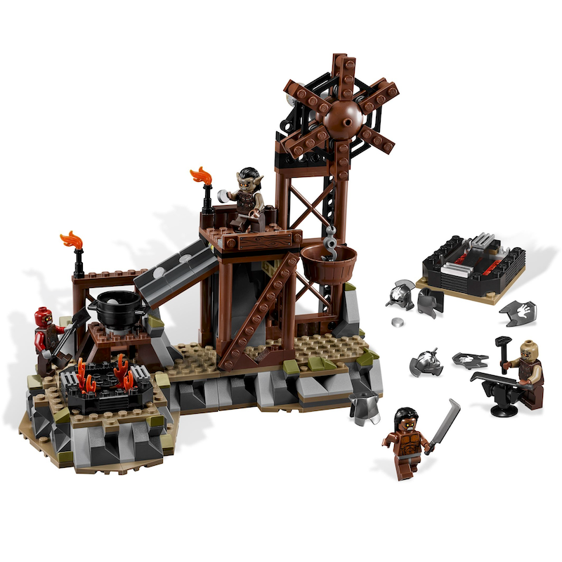 9476 The Orc Forge (Certified Set)