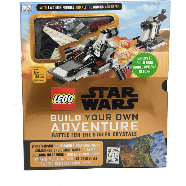 LEGO Star Wars: Build Your Own Adventure - Battle for the Stolen Crystals