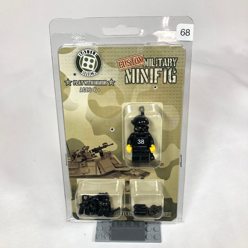 Navy Seal Special Forces Diver Minifigure
