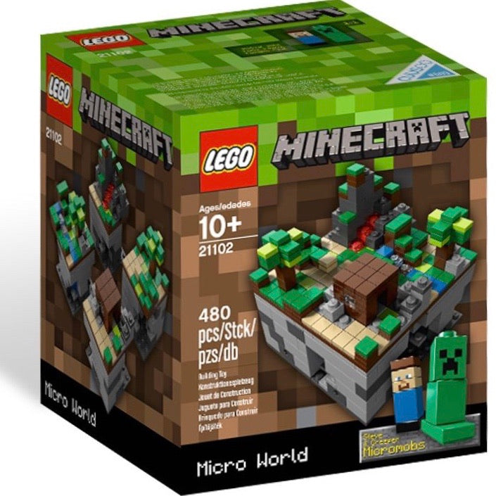 21102 Minecraft Micro World: The Forest