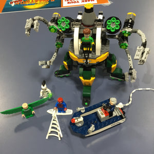76059-1: Spider-Man: Doc Ock's Tentacle Trap