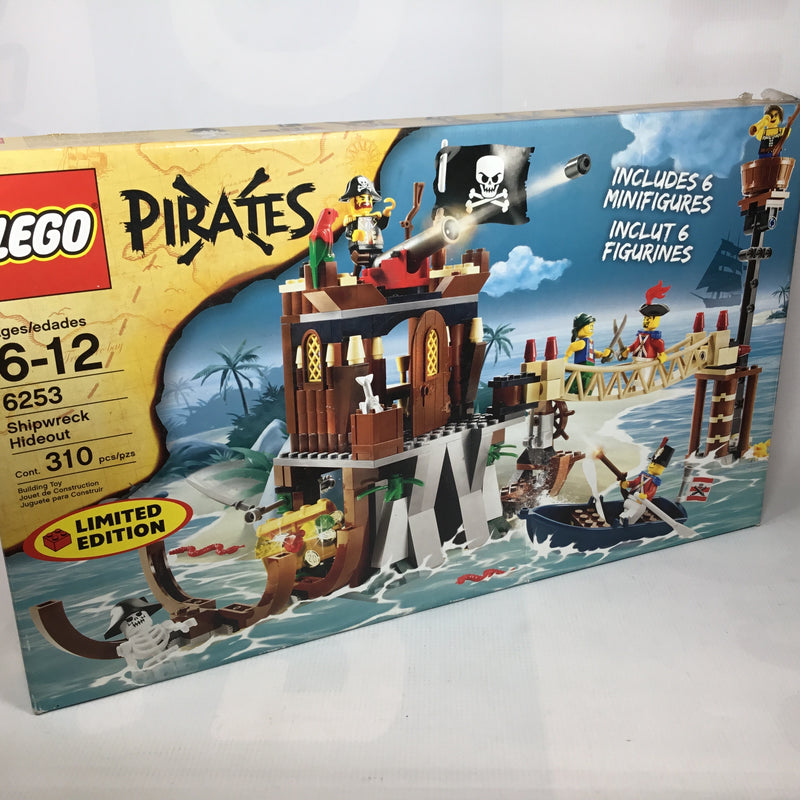 6253 Shipwreck Hideout (certified Set)