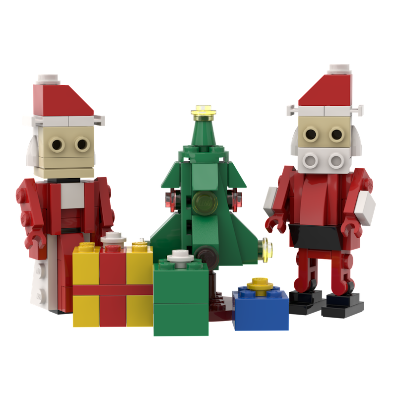 BrikFigs December - Mr. and Mrs. Claus