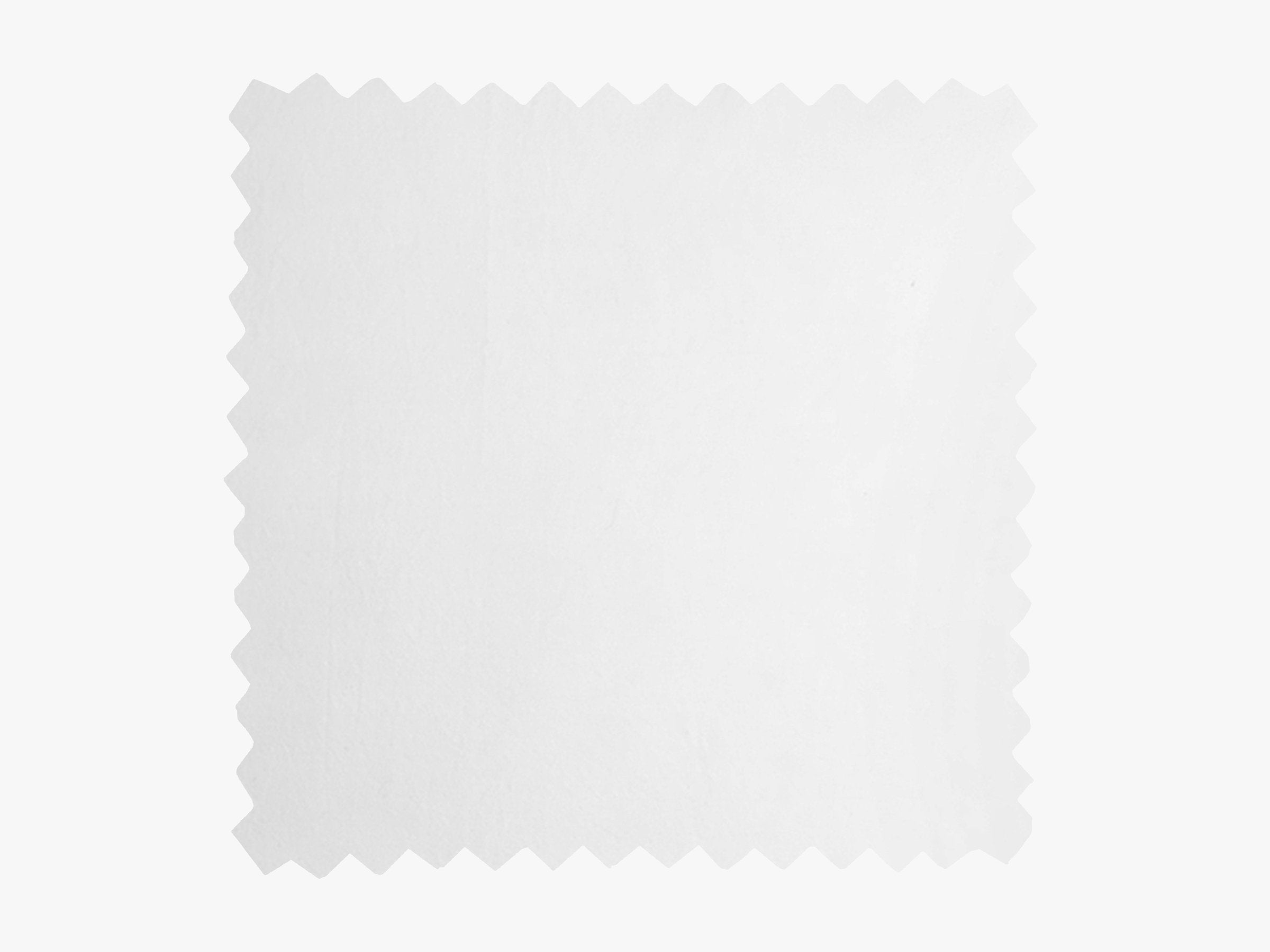 White Brushed Cotton Fabric Swatch Product Image