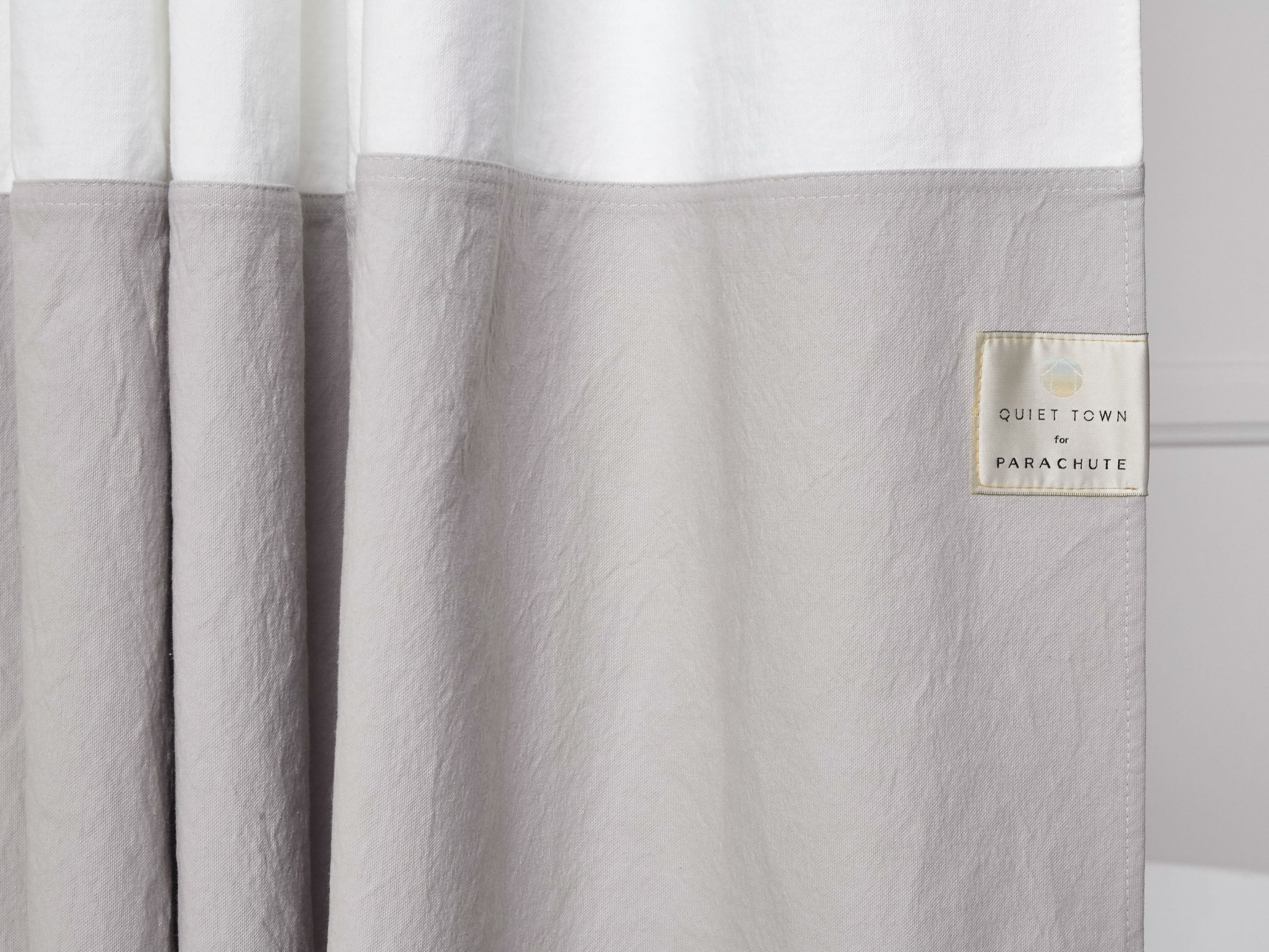 Canvas Shower Curtain – Parachute