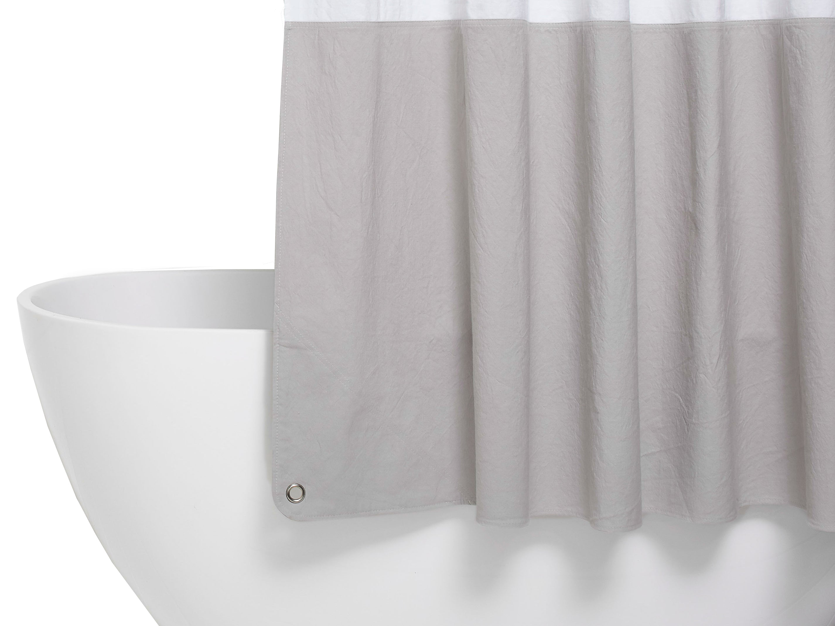 com bathroom home shower lush darla kitchen amazon dp inch white by curtain decor