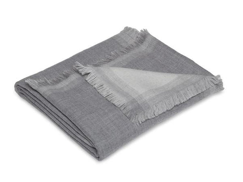 Double-faced Merino Throw