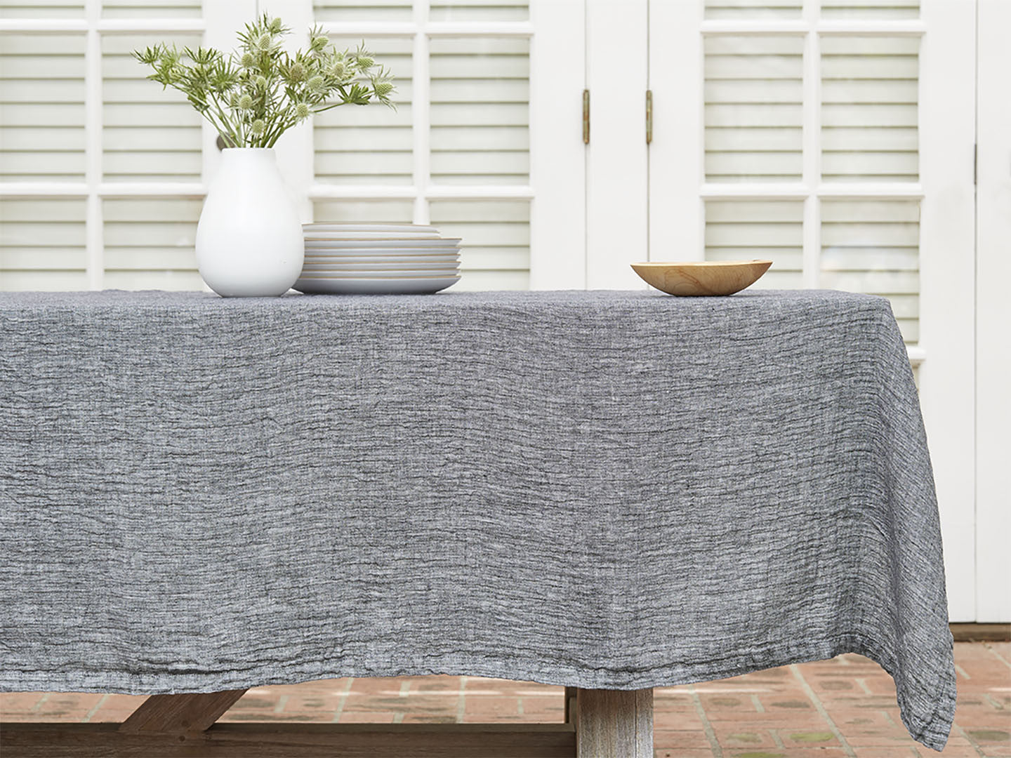 Linen Tablecloth; Linen Tablecloth ...