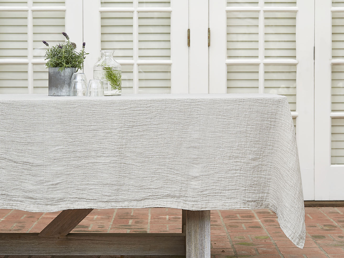 Delightful Linen Tablecloth; Linen Tablecloth ...