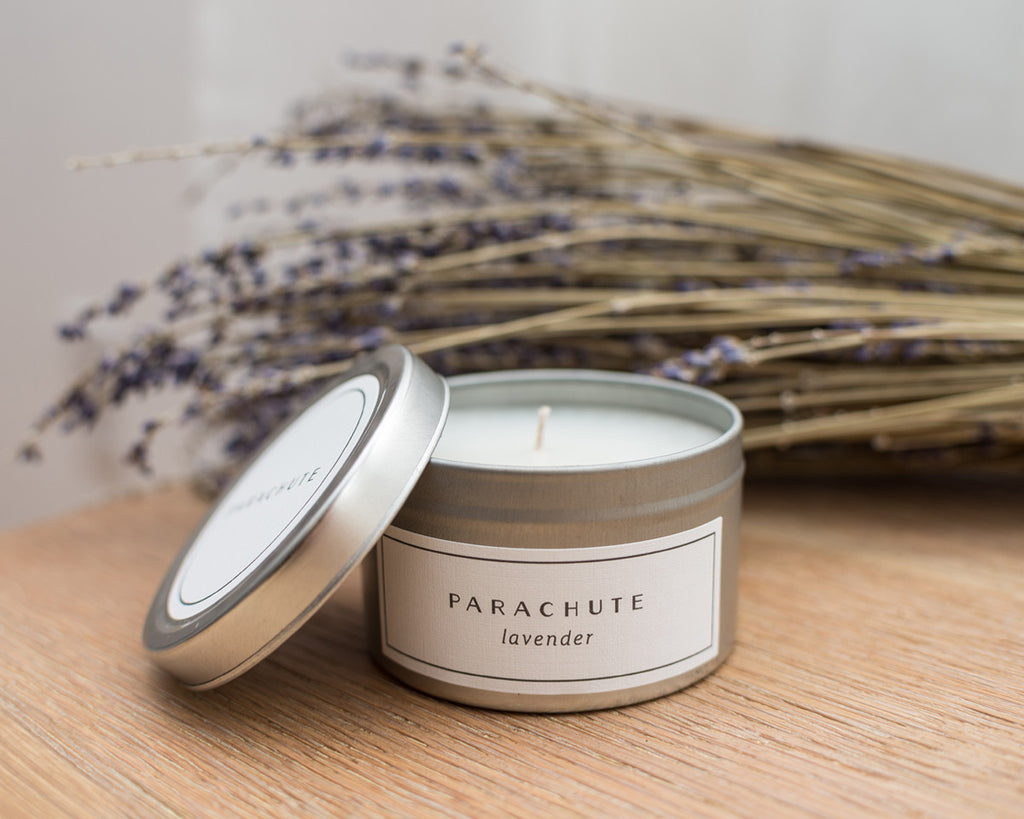 Travel Tin Scented Candle - Lavender