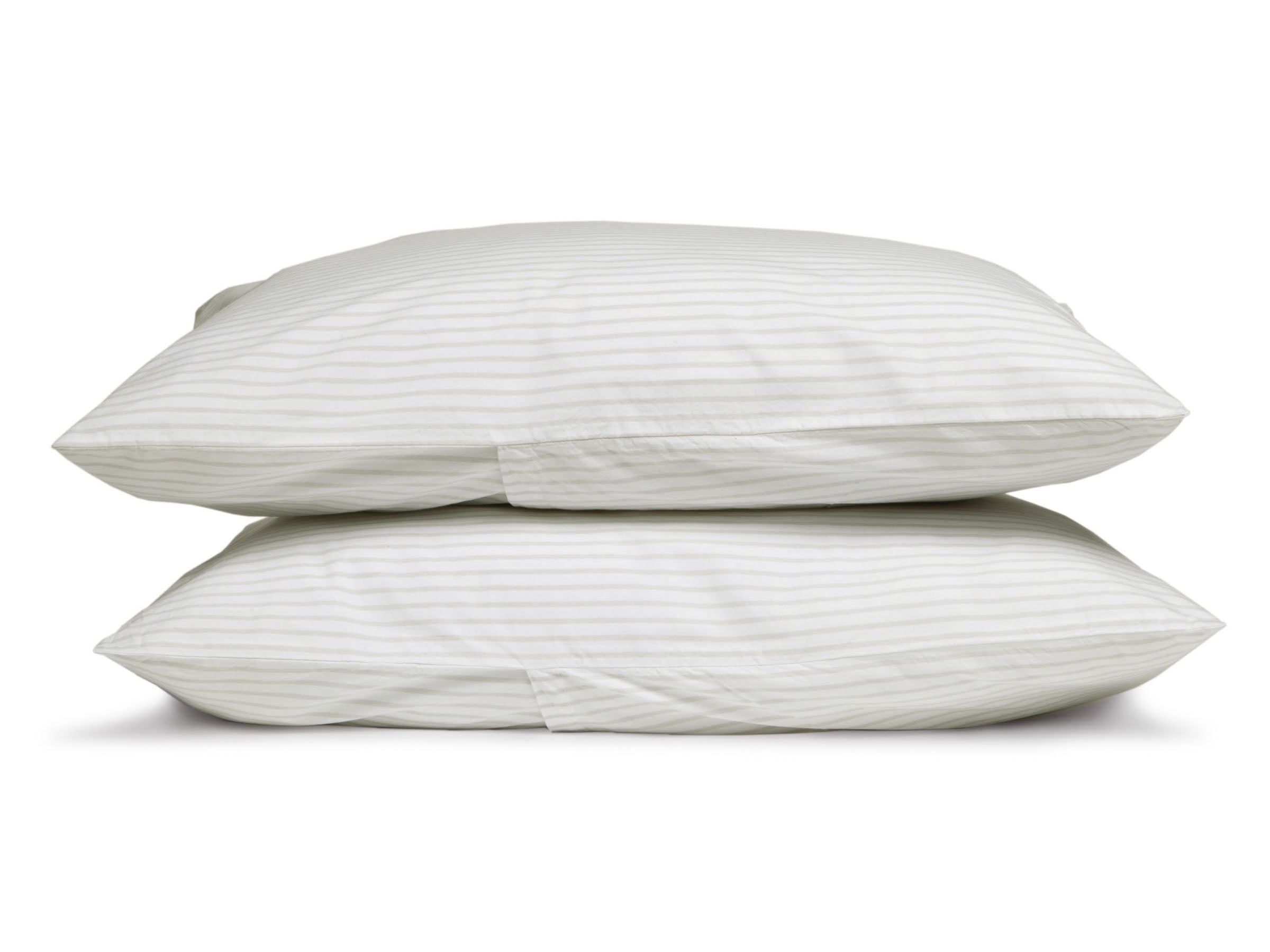 Striped Percale Pillowcases