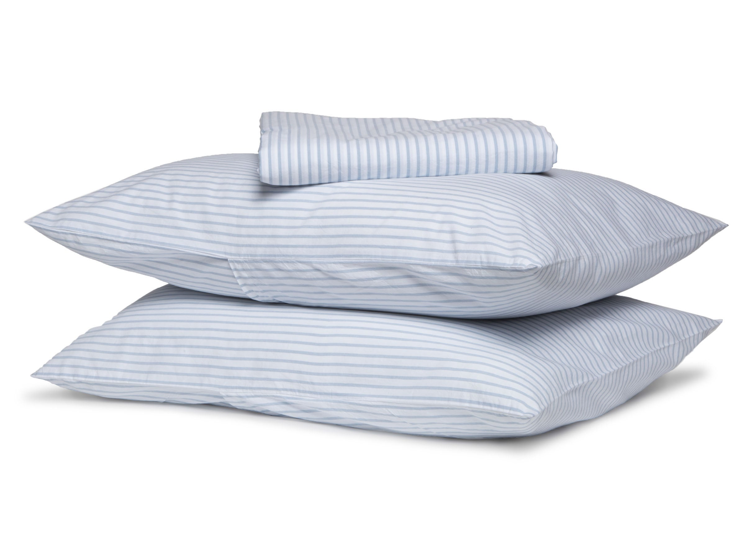 Striped Percale Sheet Set
