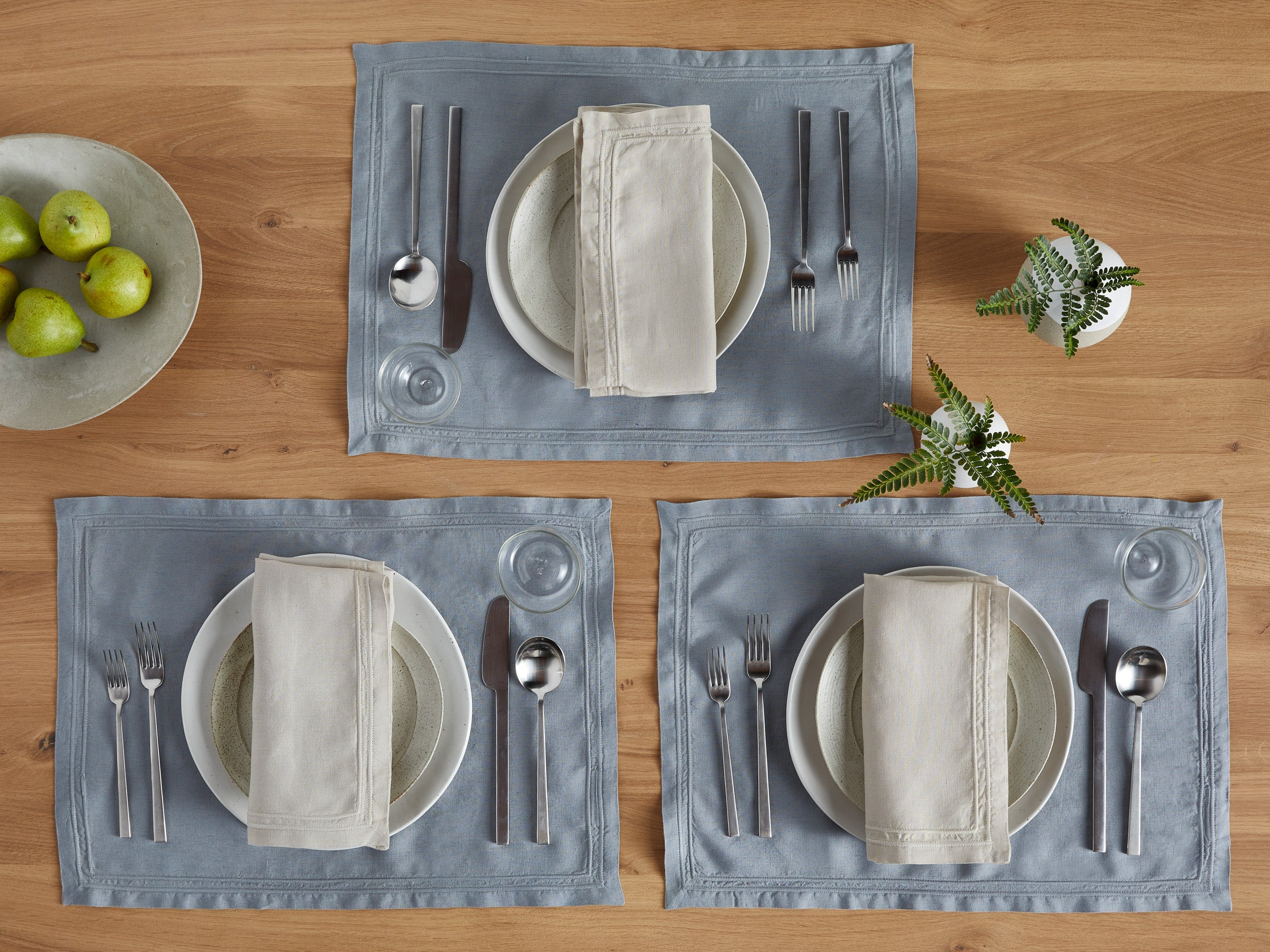 Washed Linen Placemats