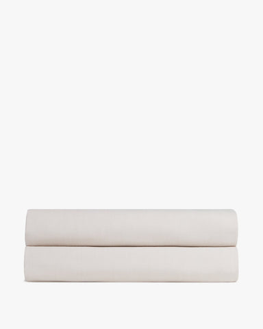 Washed Sateen Fitted Sheet