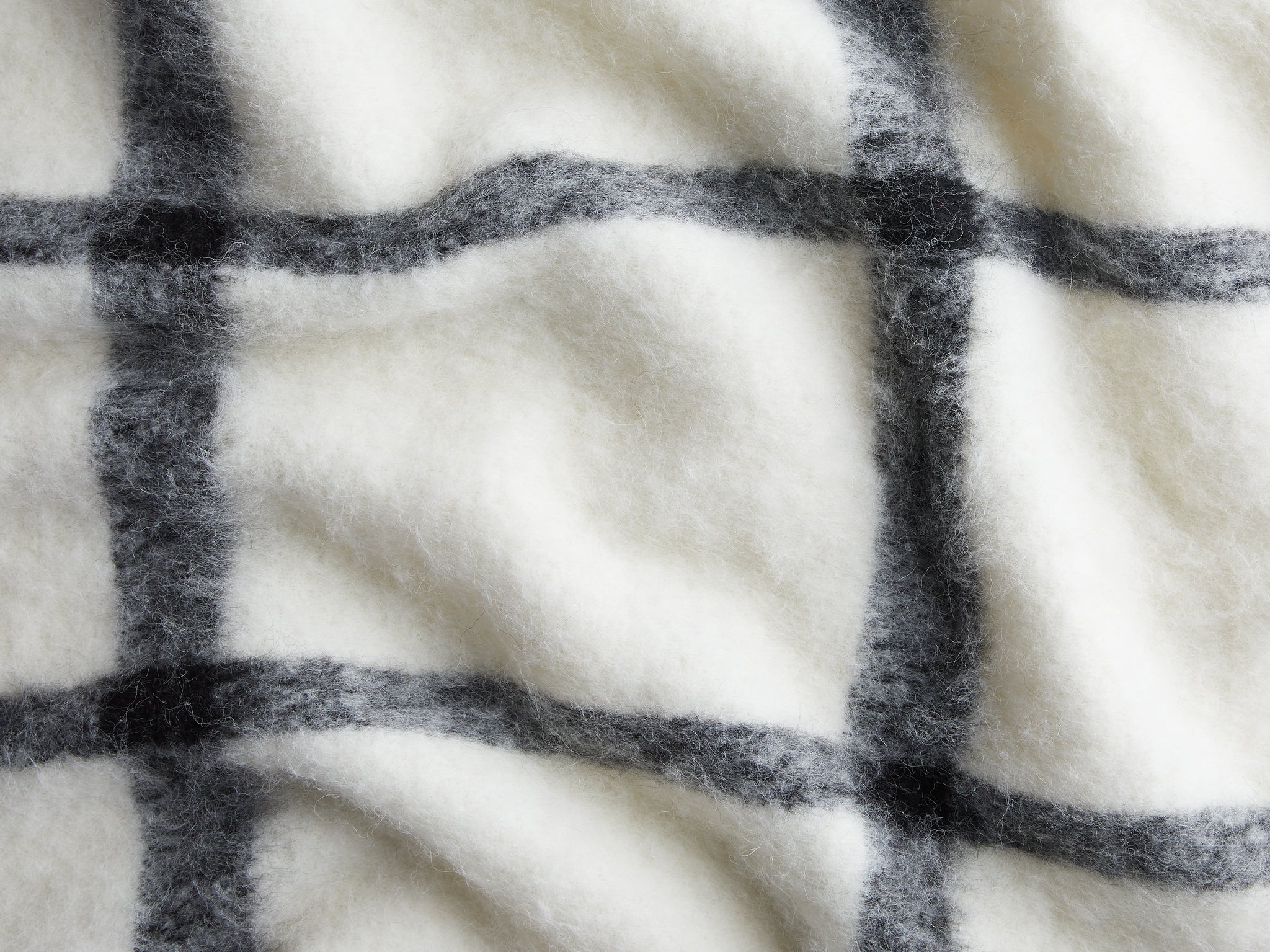 Windowpane Alpaca Throw