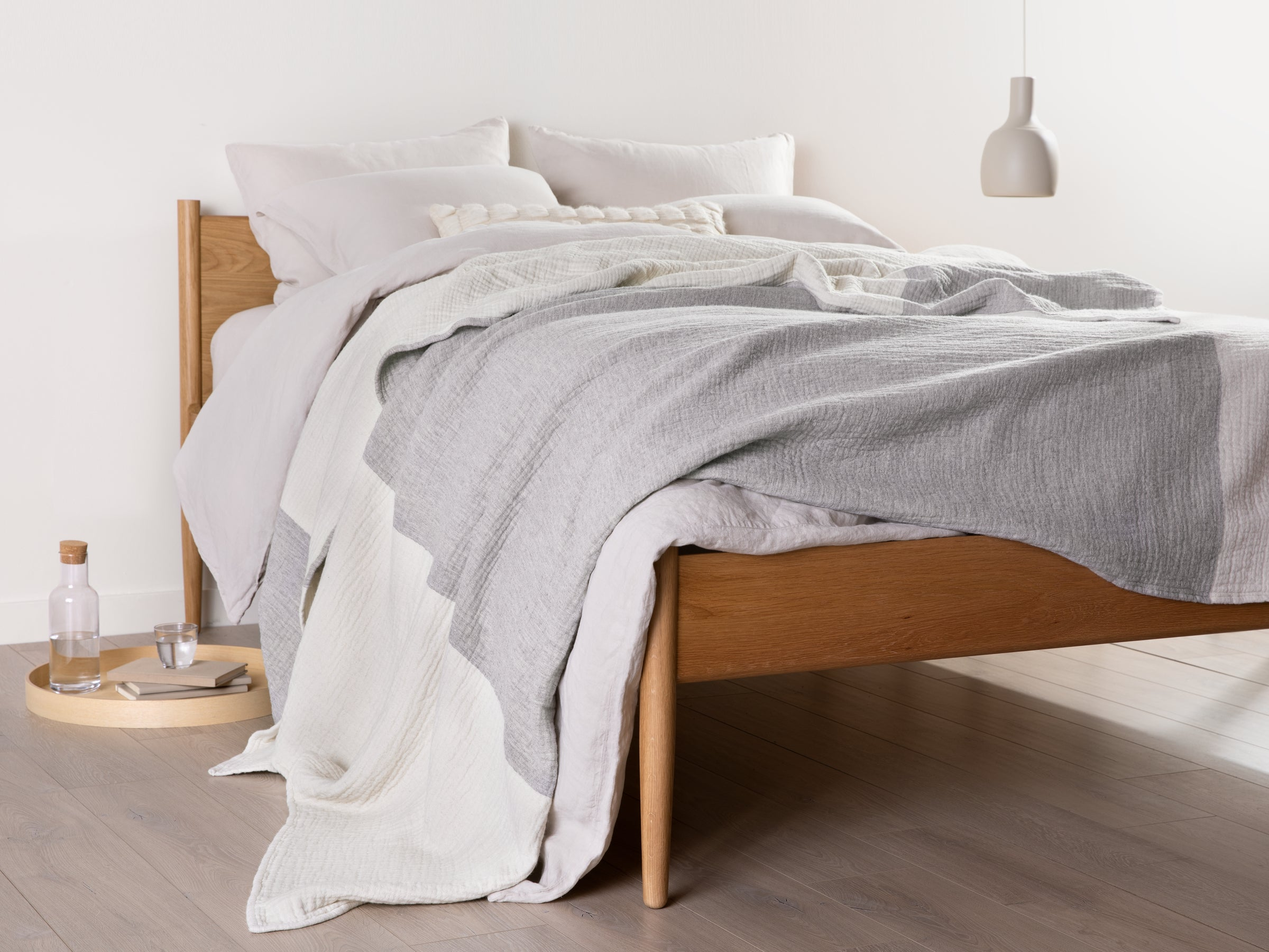 Wool Gauze Bed Blanket