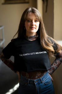The Earth Tee in Black