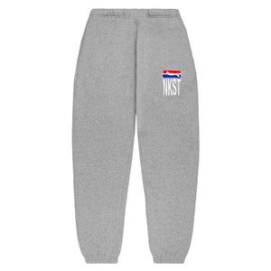 League Sweat Pants Gray