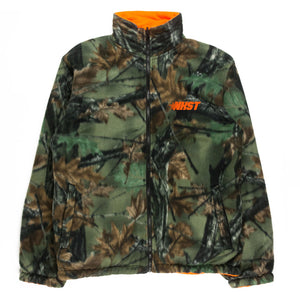 NKST Reversible Fleece Woodland Camo / Thermal Orange