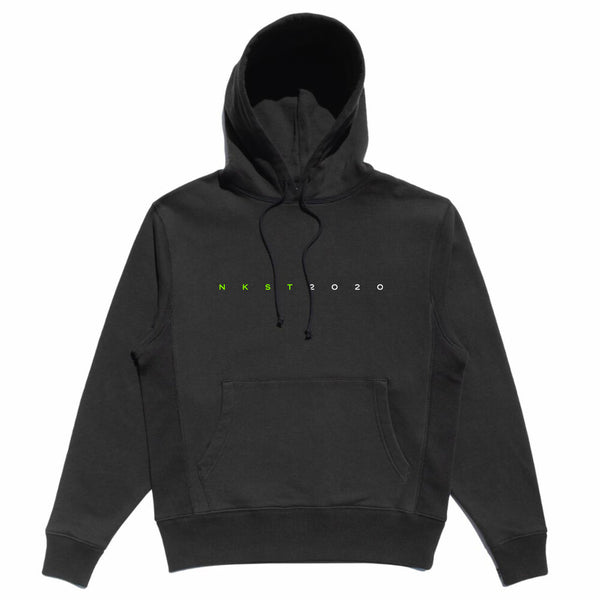 Rodman Hoodie Electric Green / Black