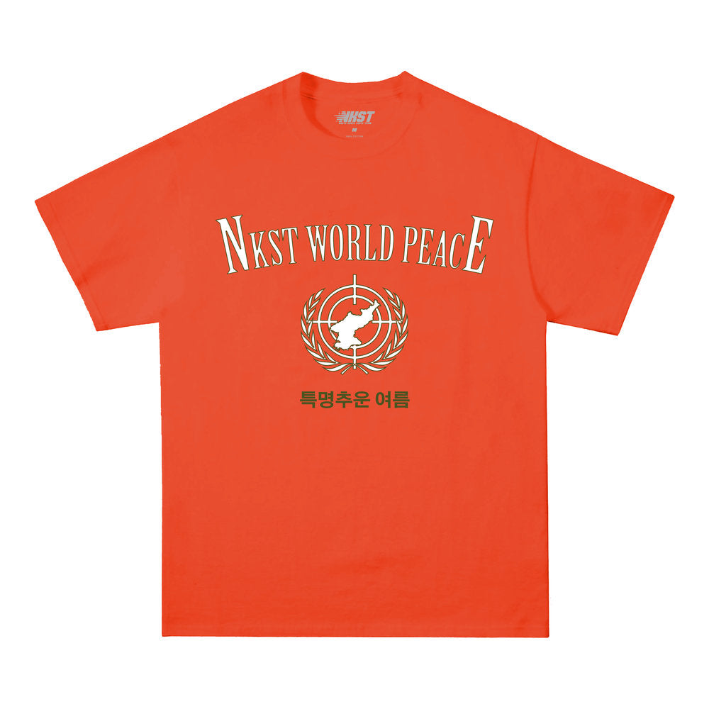 World Peace Tee Thermal Orange