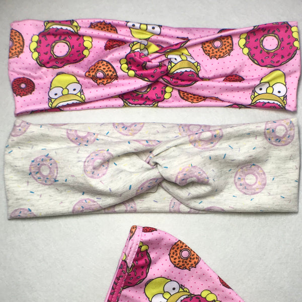 Homer/donut headband pack