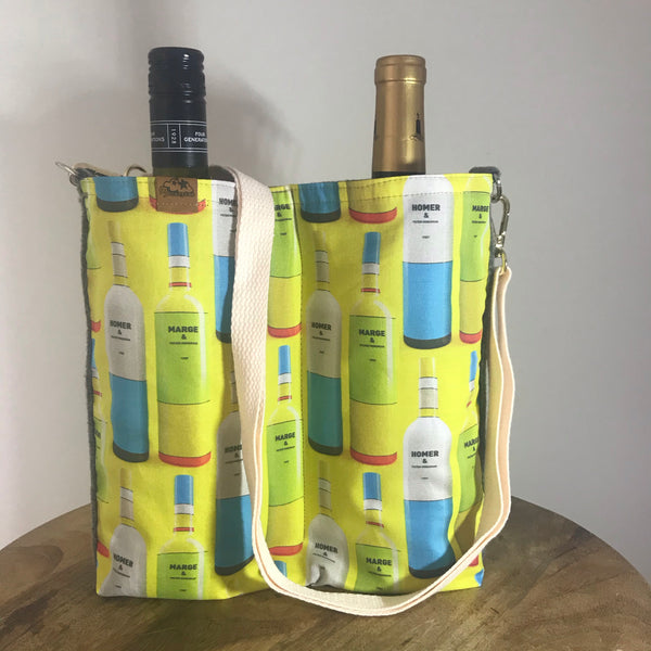 M & H ~ Wine bottle bag